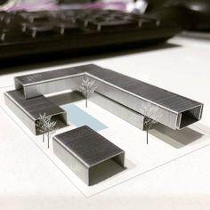 model architecture: Photo model making model architecture: Photo Maquette Architecture, Concept Models Architecture, Architecture Model Making, Architecture Student, Facade Architecture, Rhino Architecture, Conceptual Architecture, Tropical Architecture, Drawing Architecture