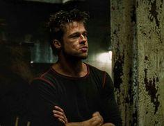 Brad Pitt as Tyler Durden. #FightClub