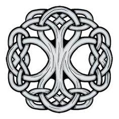 Celtic Tree of Life Temporary Tattoo | Temporary Tattoos by Custom ...