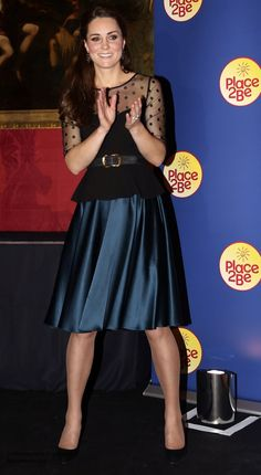 The Duchess of Cambridge attended the Place2Be Wellbeing in School Awards at the Kensington...