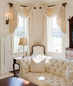 Texstil Design - - - wish I could make curtains like these