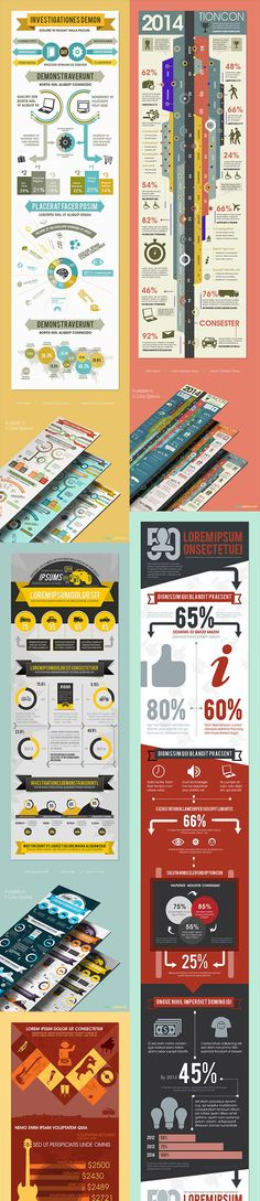 Mega bundle of 105 incredible infographic templates for 93% OFF Photo