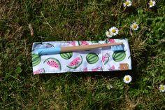 Etui à brosse à dents AVEC brosse à dents en bambou Couture, Teeth, Bamboo, Handmade Gifts, Pouch Bag, Haute Couture