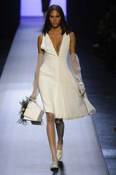Jean Paul Gaultier vestido blanco