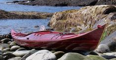 Petrel Strip-Built Sea Kayak by Nick Schade: Greenland-style, Great for Playing in the Surf!