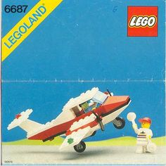 LEGO 6687 Turbo Prop 1 instructions displayed page by page to help you build this amazing LEGO Town set Lego Airport, Lego Plane, Lego Sets, Modele Lego, Classic Lego, Lego Club, Lego System, Vintage Lego, Lego Bionicle