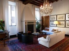 Rome Luxury Apartment Spagna Leone 3 Villas In Italy Venice Florence And Paris Classic Vacation Rental