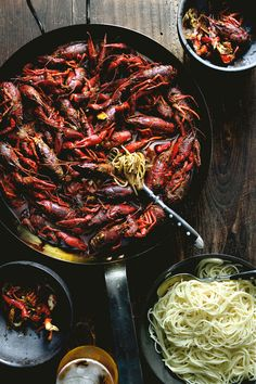 Sichuan mala, numb and spicy butter crayfish