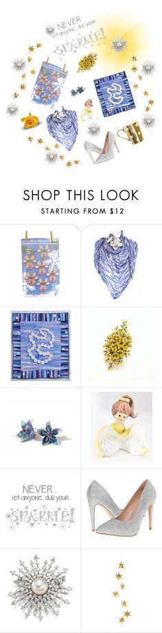 """""""Sparkle"""" by tol-n-tique ❤ liked on Polyvore featuring interior, interiors, interior design, home, home decor, interior decorating, Wall Pops!, Lauren Lorraine, Adriana Orsini and Livingly"""