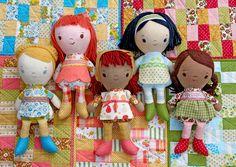 These handmade dolls are amazing.