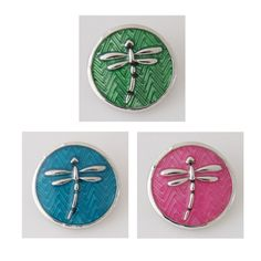 10pcs/lot Dragonfly metal snap button for bracelet OEM, ODM (fit 18mm 20mm snap jewelry) KB7715*10