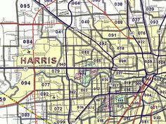 All Zip Codes in Houston TX   Houston Zip Code Map   Pinterest   Zip ...