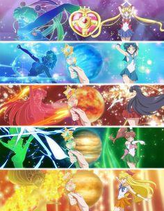 Sailor moon crystal                                                                                                                                                      Más