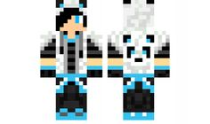 minecraft skin Blue-Hoodie-Boy Love the skin Minecraft Skins Panda, Cool Minecraft, Minecraft Houses, Mike Craft, Mc Skins, Minecraft Characters, Shadow The Hedgehog, Texture Packs, Blue Hoodie