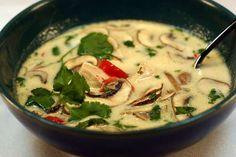 Sé delicioso!: Tom Kha / Sopa Thai de leche de coco / Thai coconut soup