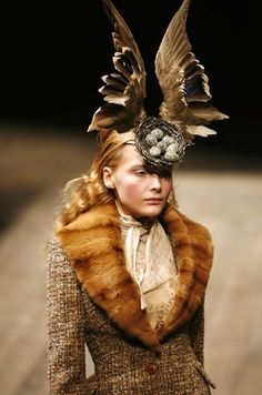 1000 Images About Headdresses Couture On Pinterest