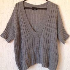 Blusa de Lã Cinza - 1435362 | enjoei :p