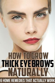 How to Grow Thick Eyebrows Naturally   Goddess Magazine