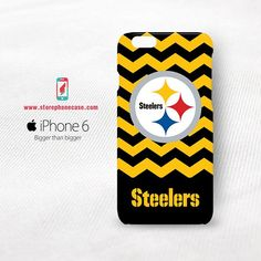 Pittsburgh Steelers Chevron iPhone 6 Cover Case