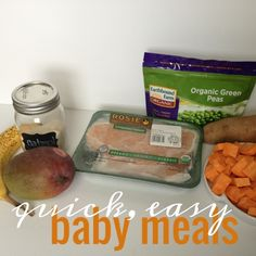 Baby food: Healthy homemade baby food