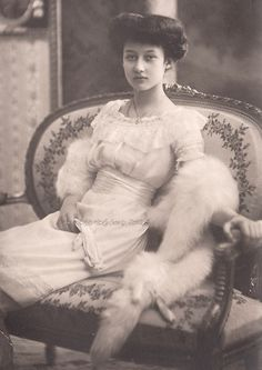 Princess Hilda of Luxembourg. 1910s.