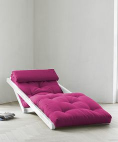 Hot Pink Figo Futon Chair