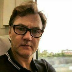 David Morrissey Selfie 2015