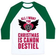 Canon Destiel - All I want for Christmas is canon Destiel. Stop teasing me, Supernatural writers and just give it to us. It would be the best present ever, to see Dean and Castiel together at last.