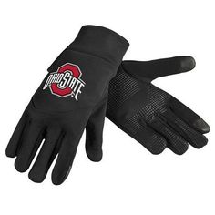 Ohio State Buckeyes Team Logo Technology Touch Texting Gloves