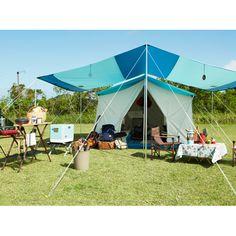 オアシス テント (ターコイズ) キャンプ用品やアウトドアならコールマンオンラインショップ