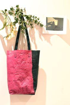 borsa in plastica riciclata di GabHandMadeArt su Etsy