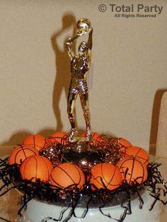 basketball centerpieces   NJ Party Decorations - Event Centerpieces for Weddings & Bar/Bat ...