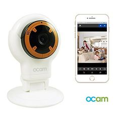 OCam S1 WiFi Baby Monitor Security Video Camera  Nanny Cam iPhone iPad iOS Android *** Read more reviews of the product by visiting the link on the image.Note:It is affiliate link to Amazon.