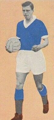 Eric Caldow of Rangers in 1963.