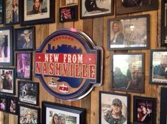 New From Nashville Wall of Fame at the Boot Grill