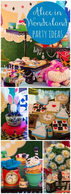 You Have To See This Amazing Alice In Wonderland Birthday Party More Ideas