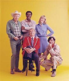 """Captain Kangaroo Show"" (that's Mr. Green Jeans on the left, and Bob Keeshan/Captain Kangaroo seated)."