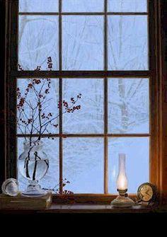 'Winter Window' by Alexander Volkov