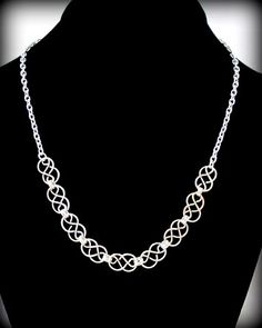 Handcrafted Mini Celtic Knot 'Lite 'Necklace | byBrendaElaine - Jewelry on ArtFire