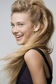 Edgy Glam Hair