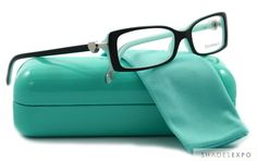 Tiffany & Co Blue Eyeglasses | New Tiffany Eyeglasses TIF 2035 Blue 8055 50mm Auth | eBay