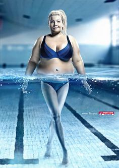 This ad promotes weight loss by using water.