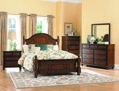 Homelegance 1746-4 Langston Collection Color Rich Burnished Pine