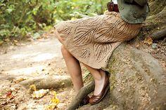 Ravelry: Leaves Skirt pattern by Jenise Reid Crochet Collar, Knit Crochet, Leaf Skirt, Ravelry, Rock, Dress Skirt, Leaves, Flare, Knitting