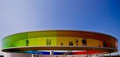"""Olafur Eliasson, """"your rainbow panorama"""""""