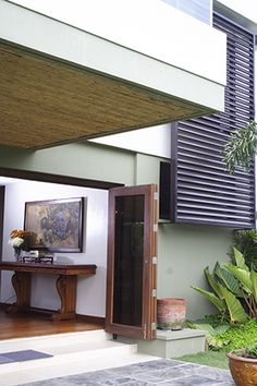 A Two-Storey House with Proud Filipino Design Filipino House, Philippines House Design, Philippine Houses, Tropical Interior, Two Storey House, House And Home Magazine, Pinoy, House Tours, Home Interior Design