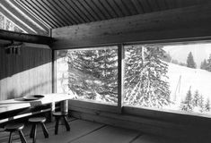 Charlotte Perriand's Utilitarian Beauty: 1960 mountain chalet in France with Japanese design influences - Core77