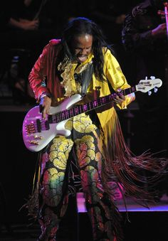 Earth Wind & Fire, saw them twice in my life, absolutely Awesome!!