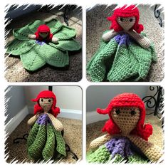 Hey, I found this really awesome Etsy listing at https://www.etsy.com/listing/189156752/mermaid-inspired-crochet-lovey