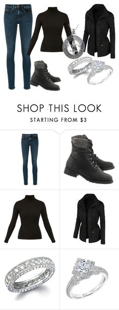 """""""Untitled #922"""" by highlivinglove ❤ liked on Polyvore featuring Calvin Klein Jeans, Diane Von Furstenberg, LE3NO, Karl Lagerfeld and Carolina Glamour Collection"""